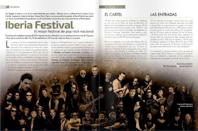 Reportaje Iberia Festival