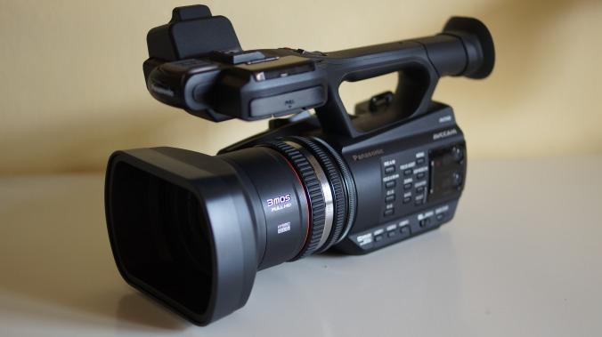 Panasonic AG AC 90 (Javi Ivànyez)
